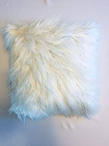 Faux Fur Throw Pillow Cover, 16
