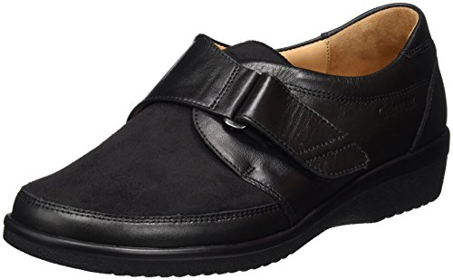 Inge-i Ganter Signore Sensibile Slipper Nero (nero)