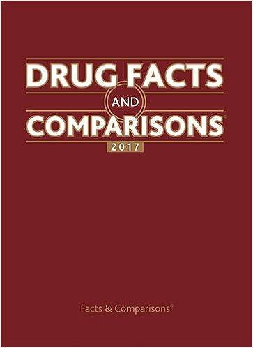 drug facts and comparisons 2017 9781574393767 medicine health