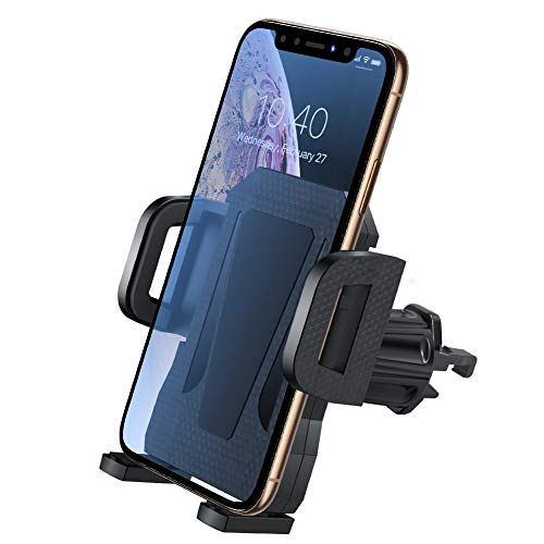 Air Vent Phone Holder for Car,Miracase Universal Vehicle Cell Phone Mount Cradle with Adjustable Clip Compatible with iPhone XR/XS Max/XS/X/8/8 Plus/7/7 Plus,Galaxy S10/S10 Plus/S9/Note 9 and More