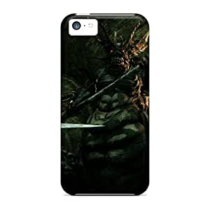 Ultra Slim Fit Hard Kristty Case Cover Specially Made For Iphone 5c- Dark Souls Stray Demon