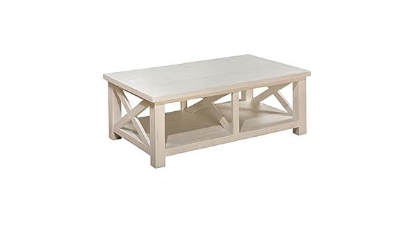 Amazon Com Jofran Madaket Coffee Table In White Kitchen Dining
