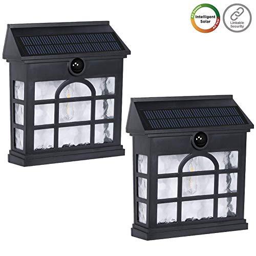 Outdoor Solar Lights For Garage in US - 8