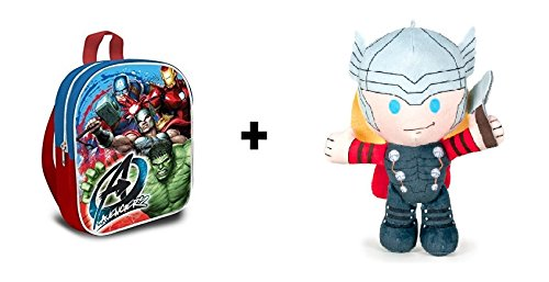 Los Vengadores (The Avengers - Marvel) - Pack Peluche Thor ...
