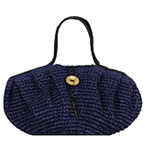 Abuyall femme ¨¦t¨¦ r¨¦tro en corde Grand sac de plage Pt4