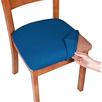 Amazon Com Smiry Stretch Jacquard Chair Seat Covers For