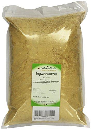 Naturix24 Ingwerpulver, 1er Pack (1 x 1 kg)
