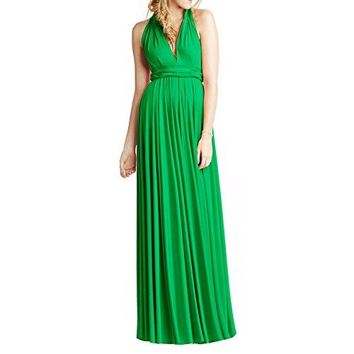 Engerla - Vestido - trapecio - para mujer Verde