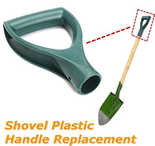 Plastic Green Scoop Poly D Grip Handle Replacement Lawn Farm Snow Removal Spade Fork Shovel by ShopIdea