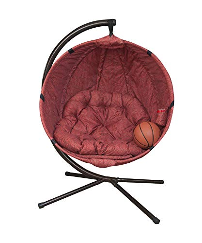 Flowerhouse Basketball Hanging Lounge Chair with Stand FHBK100