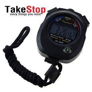 takestop - Cronómetro, reloj digital, resistente al agua, para actividades deportivas: Amazon.es: Deportes y aire libre