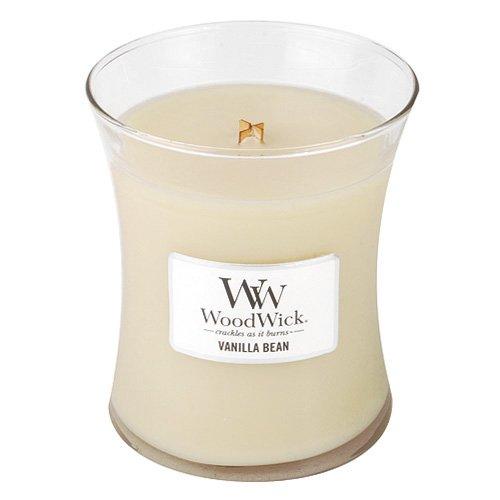 (Vanilla Bean Woodwick Jar Candle -)
