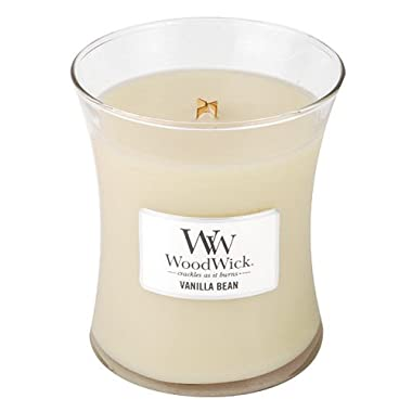 Vanilla Bean Woodwick Jar Candle - 10oz.