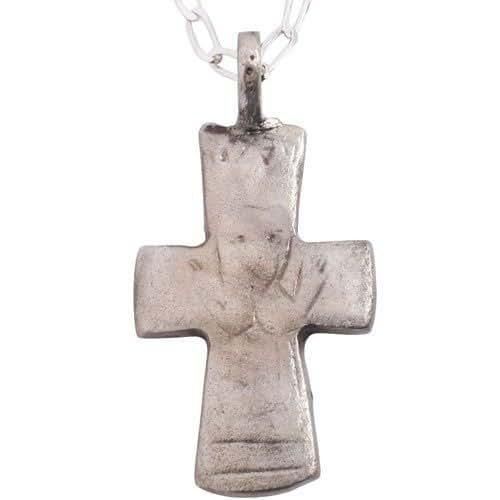 Amazon com: Authentic Antique Christian Artifact Pendant Necklace