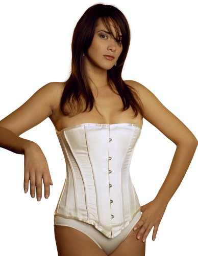 Vollers Ivory Satin with Bridal Braids Corset V176 20'' Waist