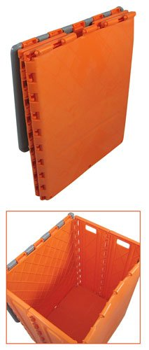Folding Storage Box That Doubles As A Stepstool