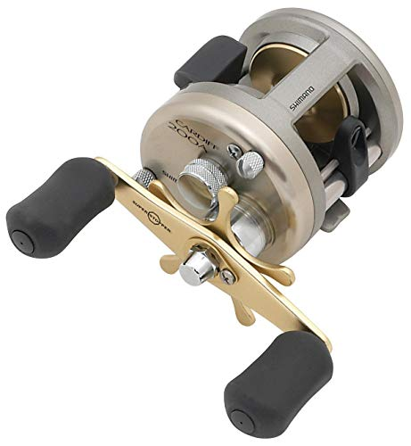(Shimano Cardiff 300A, Round Baitcast Fishing Reel Righthand, CDF300A)