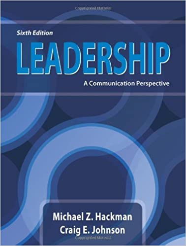 Leadership a communication perspective sixth edition leadership a communication perspective sixth edition 6th edition fandeluxe Gallery