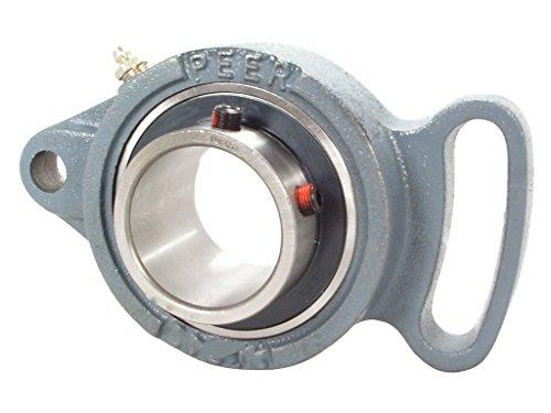 - Peer Bearing UCFA210-32-TRL Cast Iron 4 Bolt Adjustable Flange Unit, Wide Inner Ring, Relubricable, Set Screw Locking Collar, Triple Lip Seal, 2
