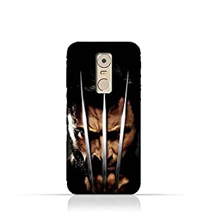 Lenovo K6 Note TPU Protective Silicone Case with Wolverine Design