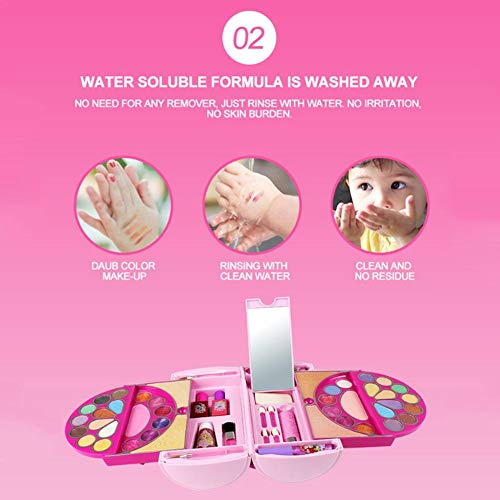 Amazon.com: Disney Childrens Cosmetics Suit Toy Pandora Mirage Cosmetic case Water Soluble Cosmetic Case 53pcs - Little Girl Makeup Kit Handbag, ...