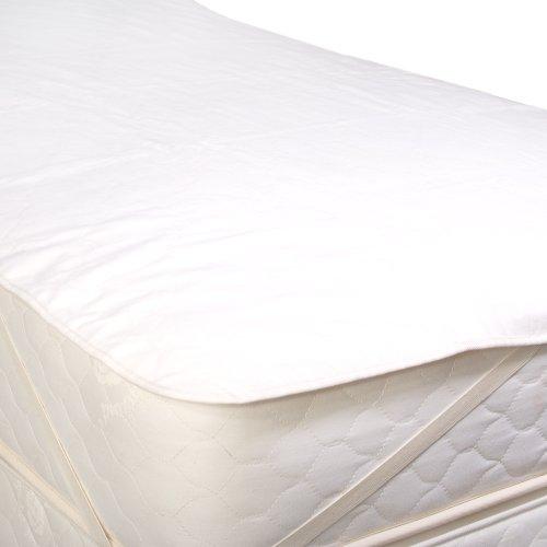 - LIFEKIND Organic Flannel Mattress Pad Straps - Size: Twin