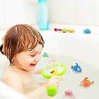Juguetes Ba/ño Juguetes de Pesca Juego de Agua Ba/ño Juguete Infantil para Ni/ños Ni/ñas