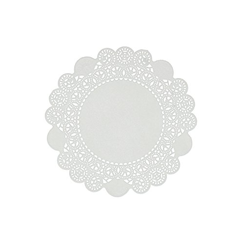 Royal 5'' Disposable Paper Lace Doilies, Case of 10,000 by Royal