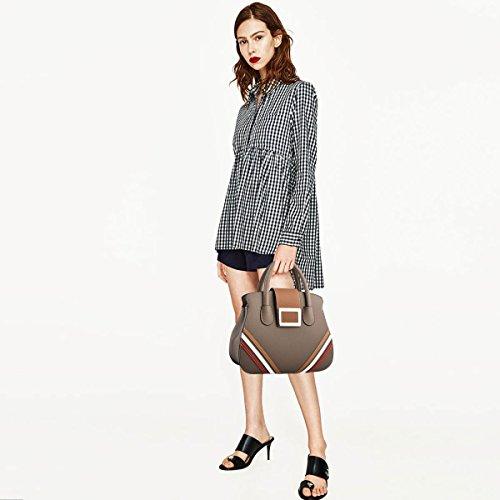 Cute Messenger Khaki PU Women Khaki Lady for Handbags NICOLE New Shoulder Bag amp;DORIS Bag BaqSHxwxA