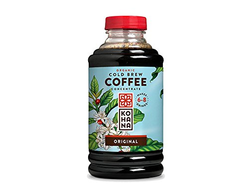 Kohana Coffee Cold Brew Coffee Concentrate, Organic Original, 16 Ounce