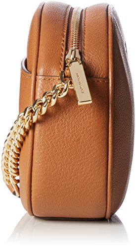 MICHAEL by Michael Kors Ginny Luggage Medium Crossbody Bolso Marrón (Luggage)