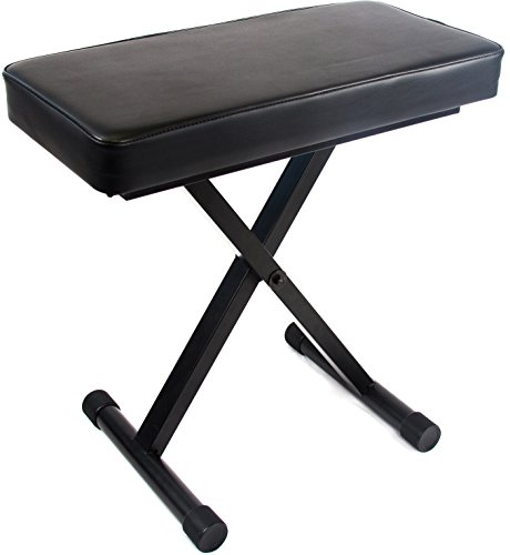 Jean Paul USA Reprize Accessories DKB-1 Adjustable Keyboard Piano Benches ( ()