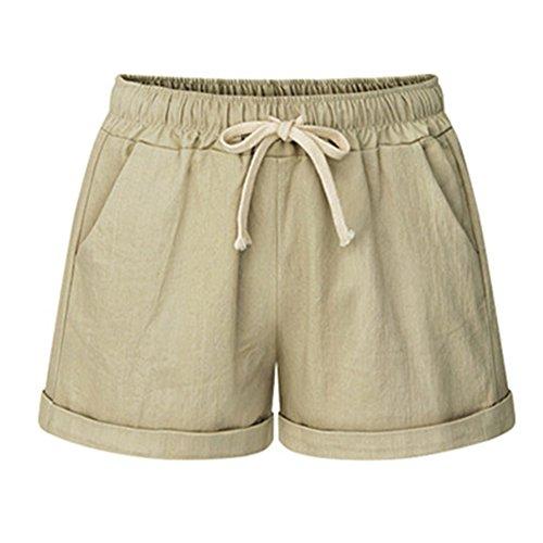Cachi Casuali Pantaloncini Corti Shorts Pantaloni Pantaloncini Donna Guiran Spiaggia 8EqPgU