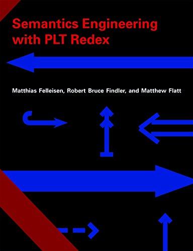 Download Semantics Engineering with PLT Redex Pdf