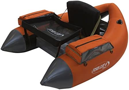 Outcast Fish Cat 4 Deluxe Float Tube – Burnt Orange with Free 20 Gift Card