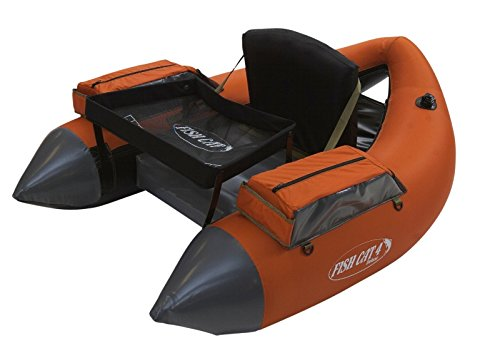 Outcast Fish Cat 4 Deluxe Float Tube - Burnt Orange with Free $20 Gift Card by Outcast