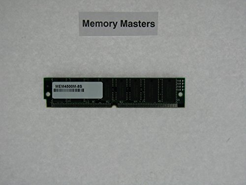 MEM4500M-8S 8MB Approved SHARED DRAM SIMM for Cisco 4500M Routers (MemoryMasters)