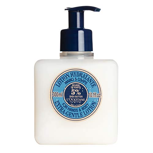 (L'Occitane Extra-Gentle 5% Shea Butter Hand & Body Lotion, 10.1 fl.)