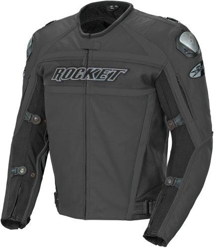 (Joe Rocket Mens' 2014 Speedmaster Jacket - Stealth Black - 46