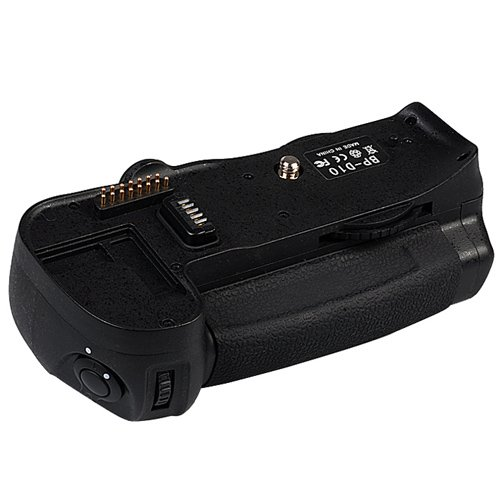 Aputure Battery Vertical Grip BP-10 with BL-3 Battery Chamber Cover for Nikon EN-EL4 and EN-EL4a, fits Nikon D300, D300s, D700, Replacing Nikon MB-D10 Multi Power Battery Pack ()