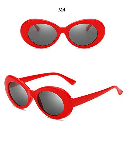 SHAOT Sunglasses For Women Trending Products 2018 Round Glasses Retro 90S Men Sun Glasses UV400 Oval Eyeglasses
