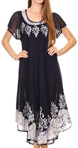 Batik Caftan Dress - 6