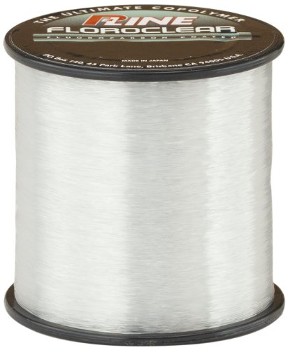- P-Line Floroclear 1/4 Size Fishing Spool (600-Yard 12-Pound)