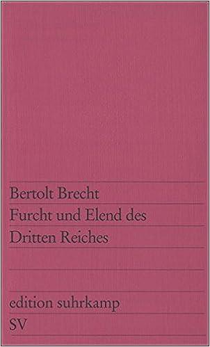 Furcht Und Elend DES Dritten Reiches by Bertolt Brecht (1970-12-27)