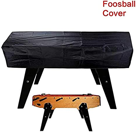 paletur0 Futbolín Mesa Impermeable Guardapolvo, Negro 420D Oxford ...