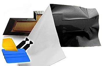 2 Rolls VViViD XPO Gloss Black Chevy Bowtie Logo Wrap Kit 11.8 x 4 BHBAZUKAZIND799