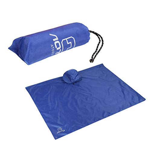 Fengdin 2019 Three-in-One Multi-Function Backpack Raincoat Outdoor Mountaineering Riding Poncho Moisture Picnic Cloth