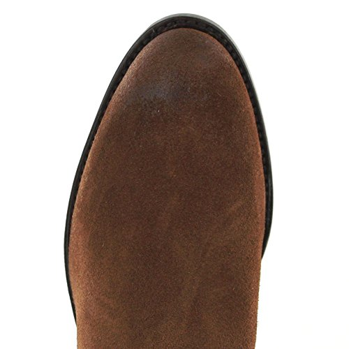 Fashion Western Unisex Boots Adulto Castana Stivali FB U4n1Bqx7wn