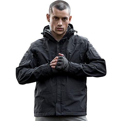 FREE SOLDIER Outdoor Men's Jacket Waterp...