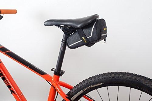 SAHOO Bicycle Repair Tool Set Kit with Saddle Bag Bike Mini Pump Tire Inflator Patch Crowbar All in One by SAHOO (Image #2)